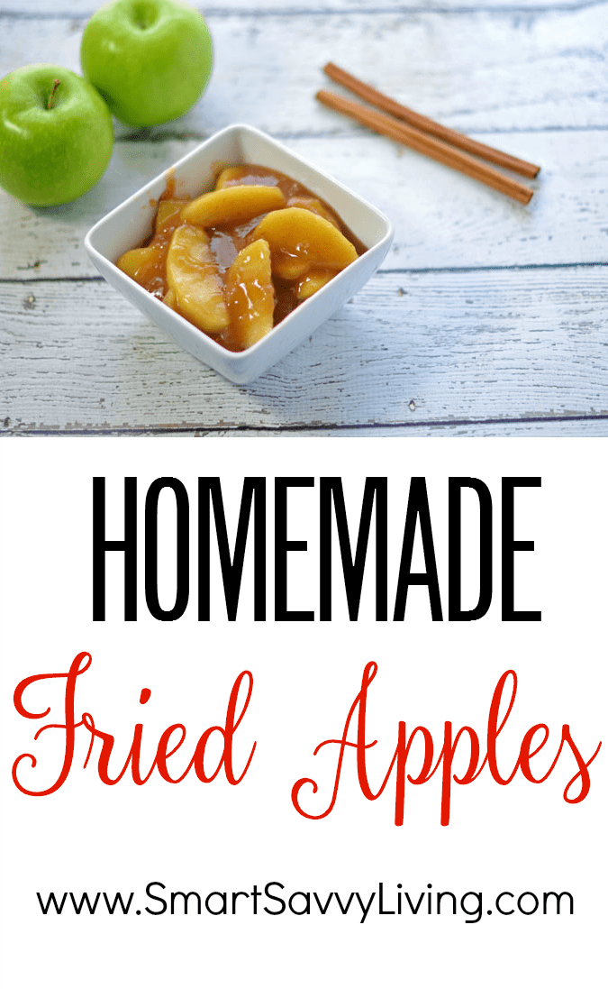 Homemade Fried Apples Recipe Collage