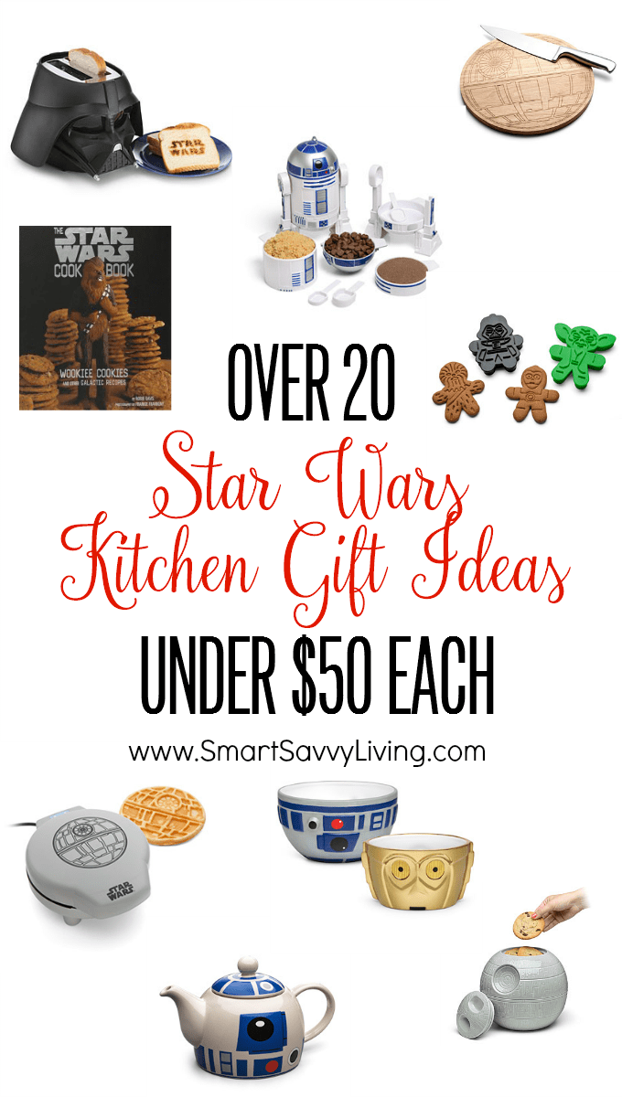 Over 20 Star Wars Kitchen Gift Ideas Under $50 Each | Whether you're looking for Star Wars birthday gift ideas, Star Wars Christmas gift ideas, or anything in between, the cooking Star Wars fan is sure to love any of these Star Wars gift ideas under $50!