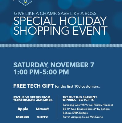 Don't Miss Best Buy's Special Holiday Shopping Event This Saturday Nov 7