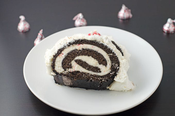 Chocolate-Gingerbread-Cake-Roll-Recipe-with-Peppermint-Butter-Cream-recipe-plated-2