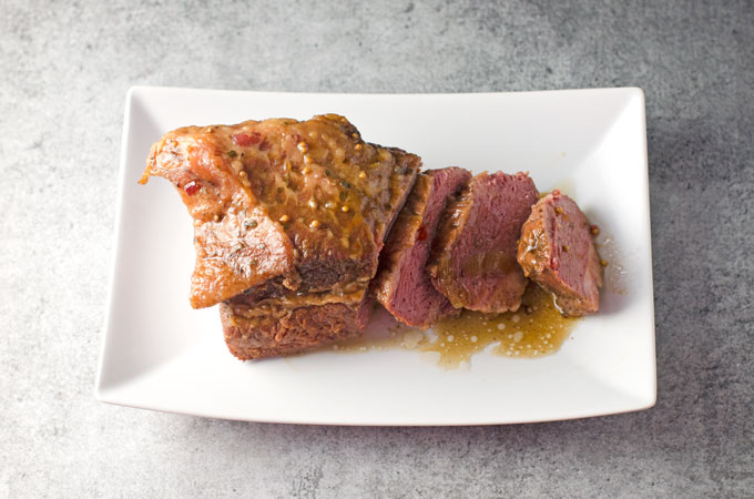 Beer-Braised Corned Beef Recipe