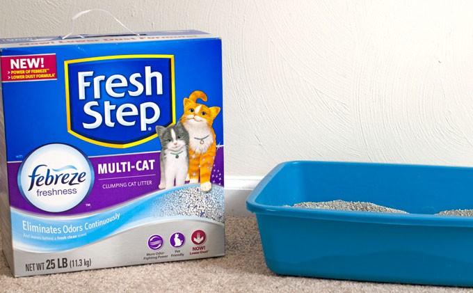 Frebreeze Fresh Step Cat Litter
