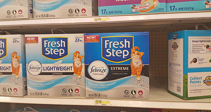 Fresh Step Cat Litter With Febreze Review