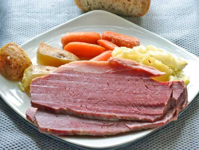 Easy Corned Beef Dinner With Vegetables Recipe