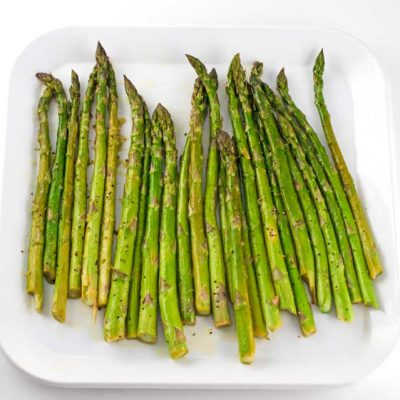 Easy Roasted Lemon Asparagus Recipe