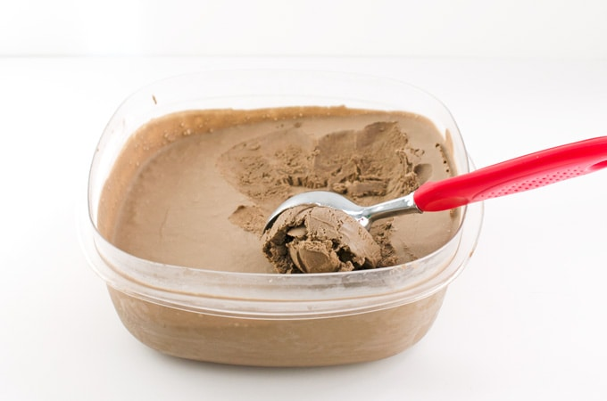 No-Churn-Mocha-Ice-Cream-Recipe---ice-cream-in-container