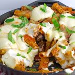 Cheesy-Rigatoni-With-Sausage-and-Mushrooms-Recipe---In-Skillet-Scooped