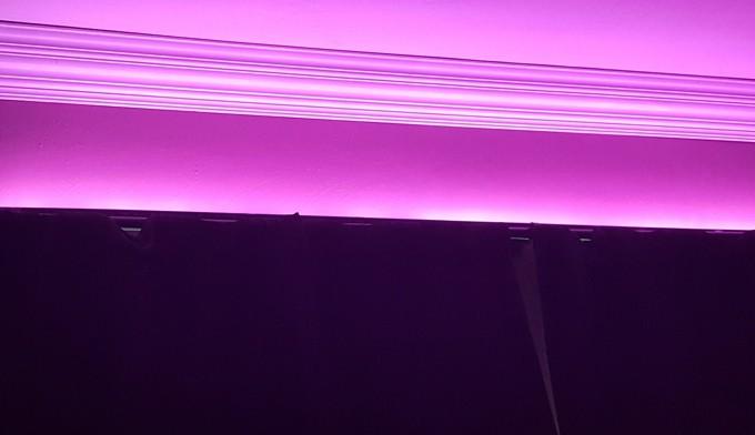 DIY Customizable Media Room Lighting