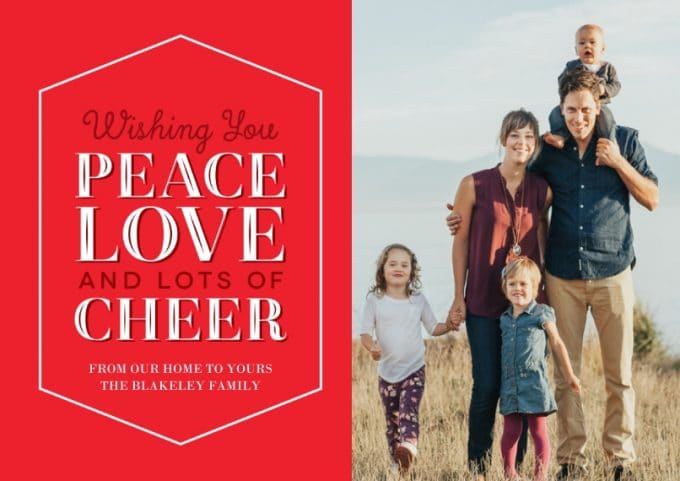 5 Holiday Photo Card Ideas