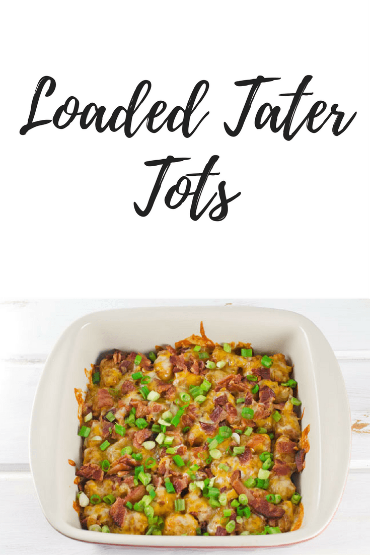 Easy Game Day Party Tips + Loaded Tater Tots Recipe