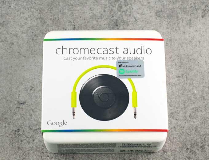 Google Chromecast Audio Review 1