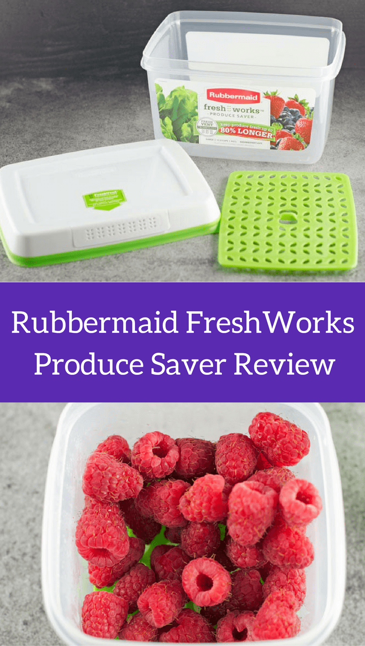 Rubbermaid FreshWorks Produce Saver Review 1