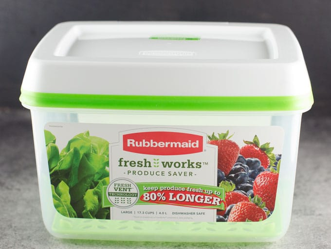 Rubbermaid FreshWorks Produce Saver Review 2