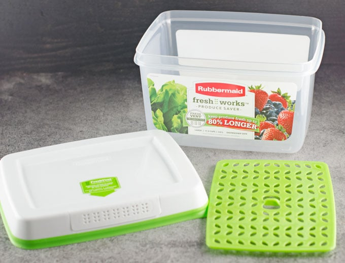 Rubbermaid FreshWorks Produce Saver Review 4
