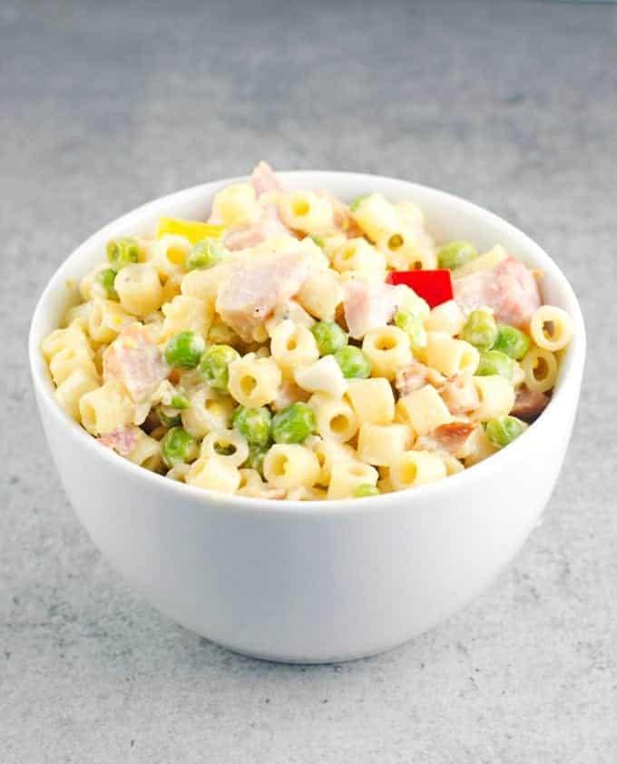 Pasta Salad With Peas And Ham Recipe