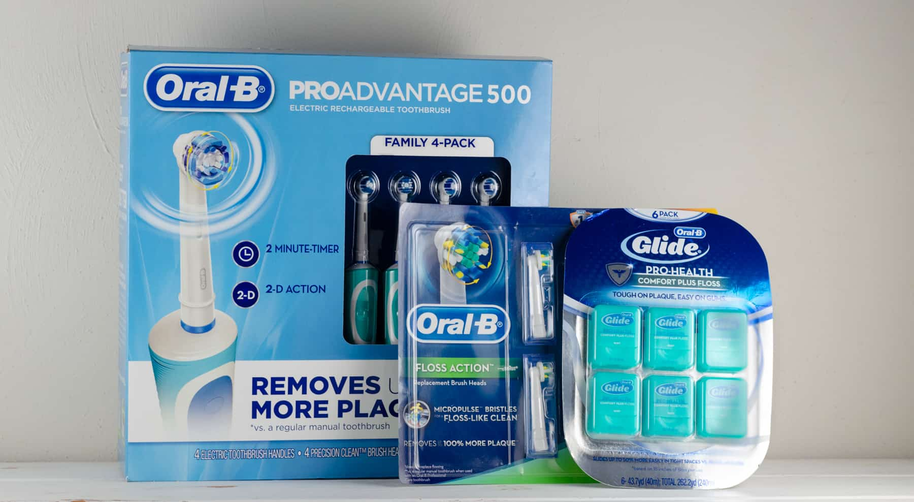 5+ Tips For Beautiful Healthy Smiles picture of oral-b products to help