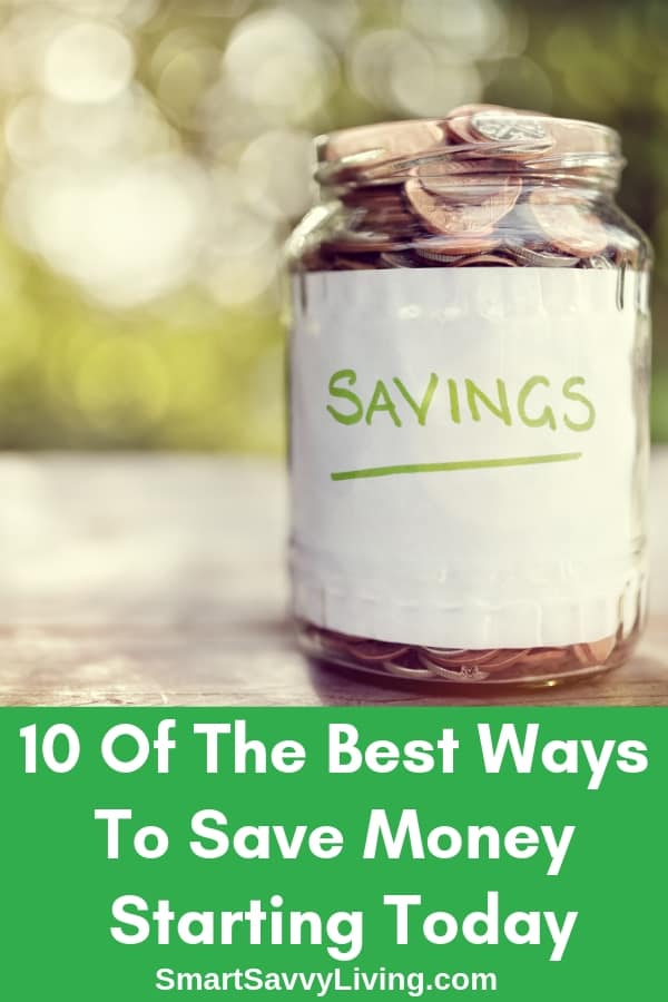 10 Of The Best Ways To Save Money Starting Today - Have a financial life-altering event? Wanting to save more money for a rainy day? Here are 10 of the best ways to save money starting today.  #financial #finances #money #moneysavingtips #tips #moneysavingideas #budget #budgeting #budgetfriendly