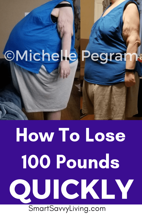 How To Lose 100 Pounds Quickly - My personal experience with losing weight, over 100 pounds, in a surprising way.